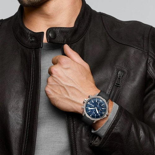 """Aquatimer Chronograph Edition """"Expedition Jacques-Yves Cousteau From Chatham Luxury Watches Sri Lanka"""