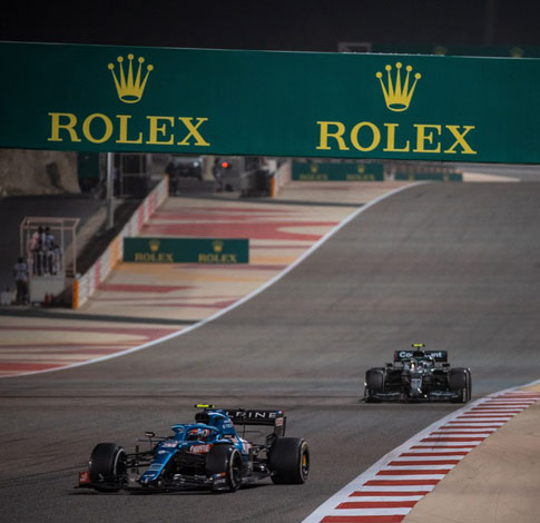 Rolex continues its support of formula 1® as 2021 season starts this weekend