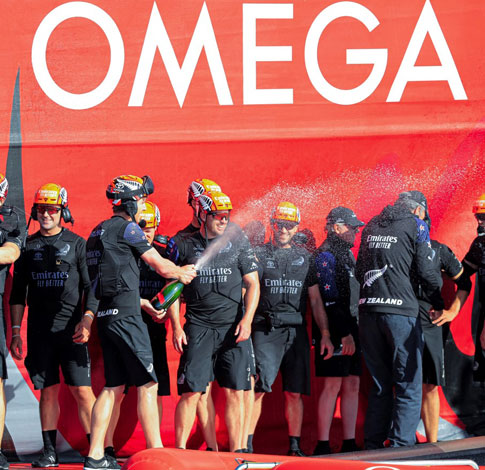 Victory for Our Partners and Friends Emirates Team New Zealand