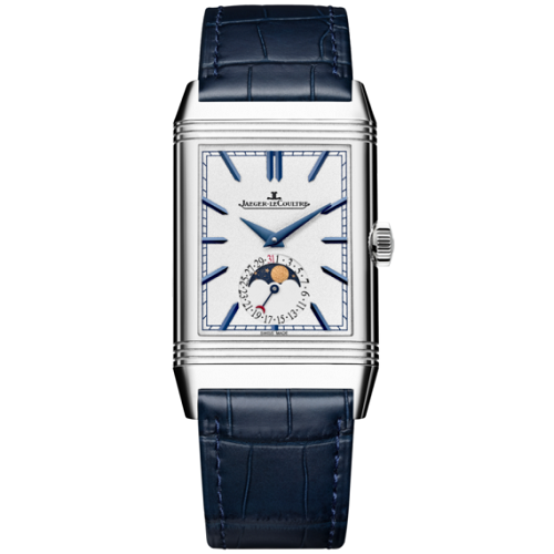 Reverso tribute duoface moon from Chatham Luxury Watches Sri Lanka